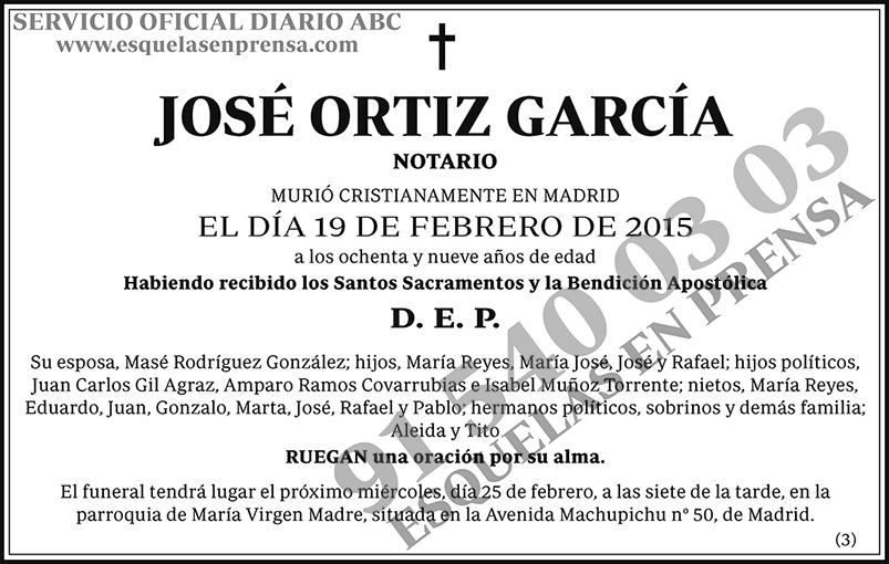 José Ortiz García